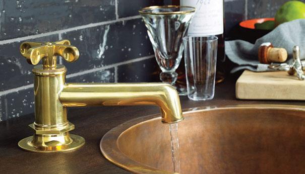 waterwroks unlaquered brass
