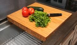 Dual-tier Bamboo Chef Block-2